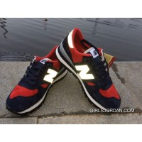 New Balance 990 Men Dark Blue Red Authentic