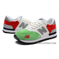 New Balance 990 Men Green White Free Shipping