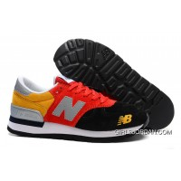 New Balance 990 Men Yellow Red Online