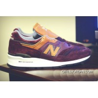 New Balance 997 Men Brown Discount