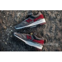 New Balance 997 Men Grey Red Cheap To Buy