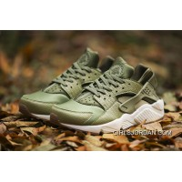 Best NIKE Huarache 1 Grass Green Grid Zoom -11