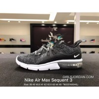 Nike Sport Shoes Men 2018 Spring New AIR MAX Shoes Zoom Casual Wear-resisting Running Shoes Black White Dark Gray 921694-011 Free Shipping