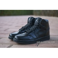 Online NIKE AIR Jordan1 1 Basketball Shoes All Black