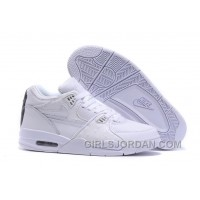 Nike Air Flight '89 White/White-White Mens Basketball Shoes Discount