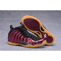 """2017 Nike Air Foamposite One """"Maroon"""" Mens Basketball Shoes Free Shipping"""