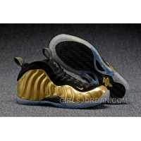 """2017 Nike Air Foamposite One """"Metallic Gold"""" Mens Basketball Shoes Free Shipping"""