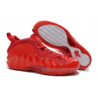 Nike Air Foamposite One All Red For Sale Discount