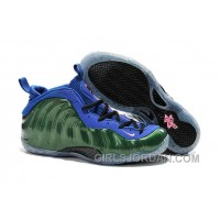 Nike Air Foamposite One Green Blue Mens Basketball Shoes For Sale