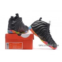 Free Shipping Nike Air Foamposite One Black And Colorful