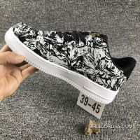 Nike Air Force 1 AF1 UPSTEP LOW BHM 920788 Zebra Shoes Lastest