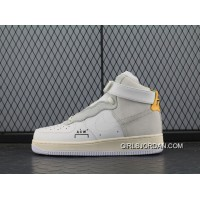 Super Deals Acw Street Fashion Brand To Be A Cold Wall X Nike Air Force 1 Acw Samuel Ross Af1 One Mid Top Sneakers Acw White Sallowness Aq5644