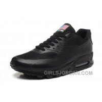NIKE Air Max 90 Hyperfuse American Flag Black 36-46 New Release