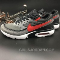 Nike Air Max Premium BW 819523-067 Dark Grey Red Discount
