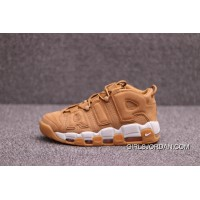 Nike Air More Uptempo Joint Pippen Big AIR AA4060-200 Wheat White Cheap To Buy