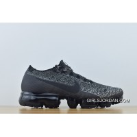 Latest 2018 Nike Air Vapormax Flyknit Women And Men The Most New Colorways Grey Black Zoom 849558-041