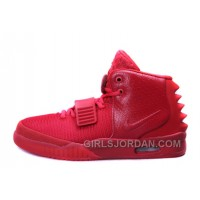 "Nike Air Yeezy 2 ""Red October"" Glow In The Dark Online"
