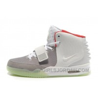 Nike Air Yeezy 2 Wolf Grey/Pure Platinum Glow In The Dark Cheap To Buy