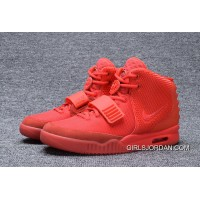 Discount NIKE AIR YEEZY 2 II RED OCTOBER 508214-660 2