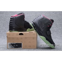 NIKE AIR YEEZY 2 NRG Black Pink 508214-006 New Release
