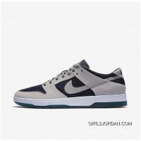 NIKE SB ZOOM DUNK LOW ELITE 864345-004 Women Mens Dark Blue/Black/White Grey New Style