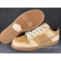 Nike SB Dunk Low QS Wheat 883232-700 Women Men Cheap To Buy