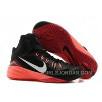 Nike Hyperdunk 2014 Black/Metallic Silver/Hyper Punch For Sale Authentic