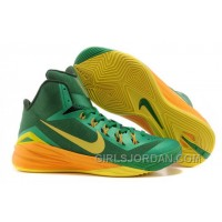 "Nike Hyperdunk 2014 ""Brazil"" Lucky Green/Sonic Yellow-Gorge Green For Sale Discount"