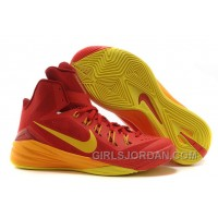 "Nike Hyperdunk 2014 ""Spain"" University Red/University Gold-Team Red Christmas Deals"