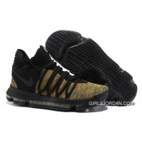 Nike KD 10 Black Gold Men Shoes Kevin Durant For Sale