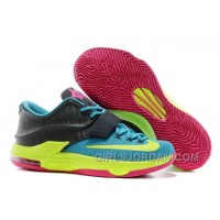 "Nike Kevin Durant KD 7 VII ""Carnival"" Mens Basketball Shoes Top Deals"