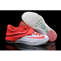 "Nike Kevin Durant KD 7 VII ""Christmas Egg Nog"" Mens Basketball Shoes For Sale"