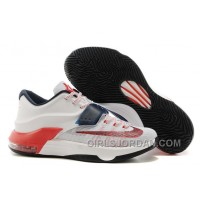 "Nike Kevin Durant KD 7 VII ""USA"" Mens Basketball Shoes Discount"