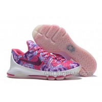 "Lastest KD 8 ""Aunt Pearl"" Mens Basketball Shoes"