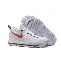 "Nike KD 9 ""USA"" Mens Basketball Shoes Cheap To Buy"