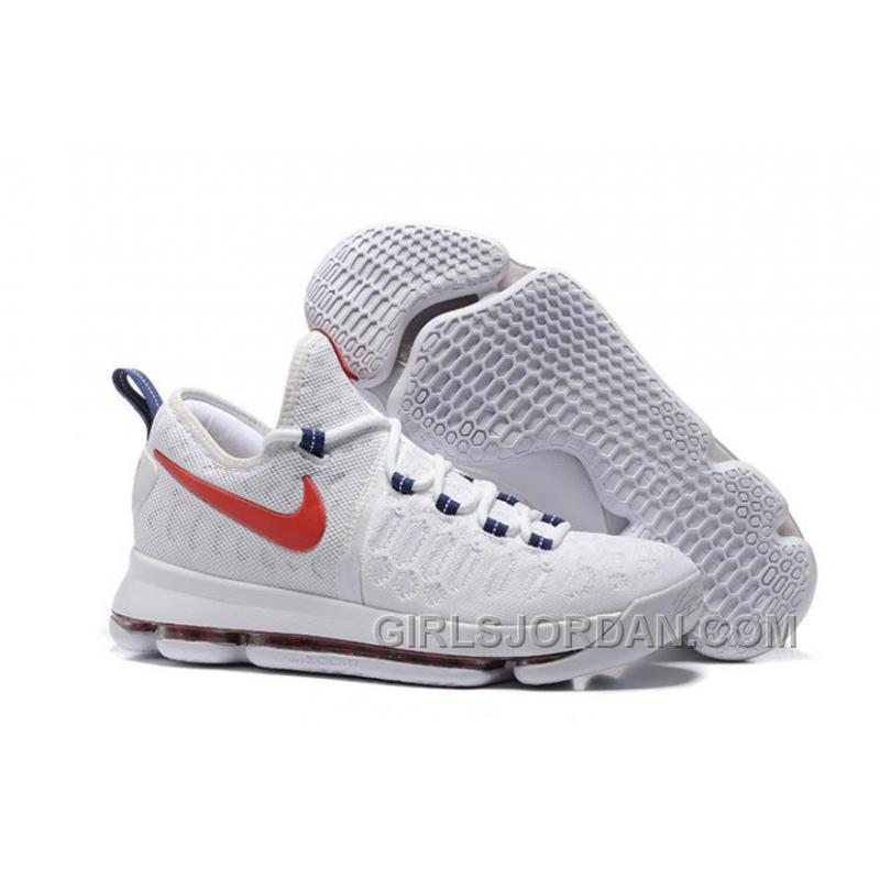 "1f49bbb04dc USD  91.00  282.10. Nike KD 9 ""USA"" Mens Basketball Shoes Cheap To Buy ..."