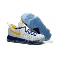 "Nike KD 9 ""Golden State Warriors"" Mens Basketball Shoes Lastest"