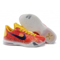 "Authentic Kobe 10 ID ""Sgt. Mamba"" Yellow/Multi-Color Mens Basketball Shoes"