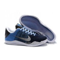Nike Kobe 11 Brave Blue/Metallic Silver-University Blue Authentic