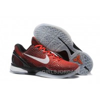 "Nike Zoom Kobe 6 ""All Star"" Challenge Red/White-Black Cheap To Buy"