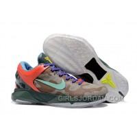 "Nike Zoom Kobe 7 ""What The Kobe"" Mens Basketball Shoes Top Deals"
