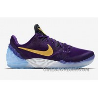 Nike Kobe Venomenon 5 Classic Lakers Purple Gold Colors Discount