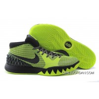 NIKEiD Kyrie 1 Fluorescence Green Black Grey For Sale Top Deals