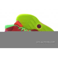 Nike Kyrie 1 Red Fluorescent Green Discount