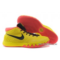 Nike Kyrie 1 Yellow And Black New Style