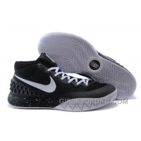 Nike Kyrie 1 Grade School Shoes Black White Discount