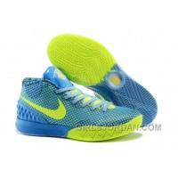 Online Nike Kyrie 1 Grade School Shoes Blue Green