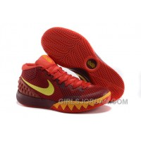 Nike Kyrie 1 Grade School Shoes Magenta Yellow For Sale