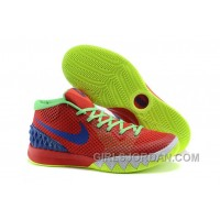 Nike Kyrie 1 Grade School Shoes Red Green For Sale