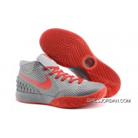 Nike Kyrie 1 Women Shoes Grey Red Online